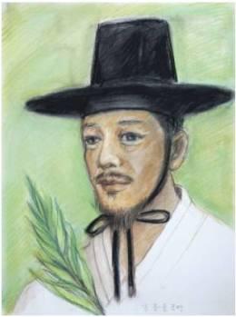 Beato Lukas Kim Jong-ryun (Sumber: koreanmartyrs.or.kr)