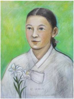 Beata Teresia Kwon Cheon-rye (Sumber: koreanmartyrs.or.kr)