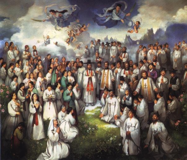 103 Santo-santa Martir dari Korea (Sumber: cbck.or.kr)