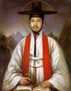 Santo Andreas Kim Tae-gon (Sumber: kimroel.wordpress.com)