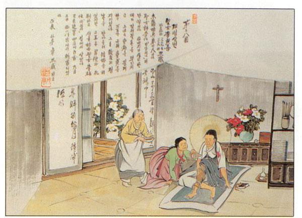 Santa Barbara Yi Chong-hui (Sumber: cbck.or.kr)