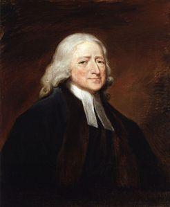 Lukisan John Wesley oleh George Romney (Sumber: wikipedia.org)