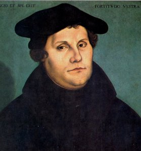 Lukisan Martin Luther oleh Lucas Cranach the Elder (Sumber: wikipedia.org)