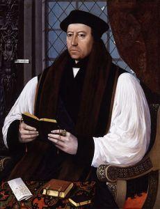 Lukisan Thomas Cranmer oleh Gerlach Flicke (Sumber: wikipedia.org)