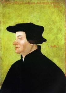 Lukisan Huldrych Zwingli oleh Hans Asper (Sumber: wikipedia.org)