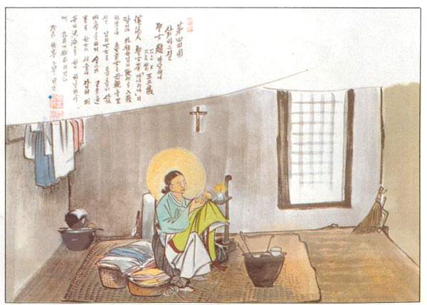 Santa Magdalena Cho (Sumber: cbck.or.kr)